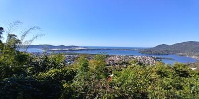Lagoa da Conceição מנקודת תצפית