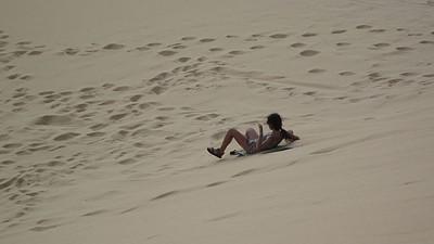 'sandboarding'