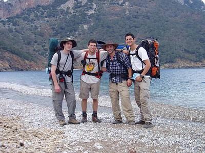 סיום בחוף Adrasan