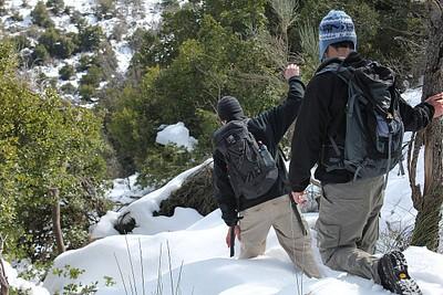 יורדים מהר כחל - שלג בגובה ברך כבר אמרנו?