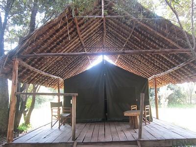 האוהל במתחם השינה
