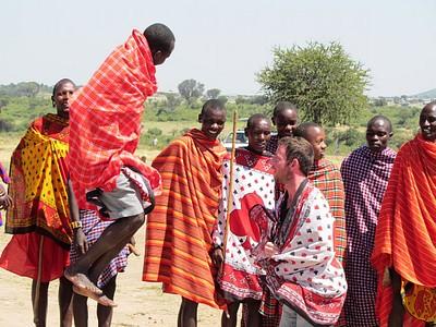 ריקוד הקפיצות המסורתי
