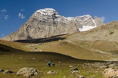 מבט אחרון על ההר Gangabal