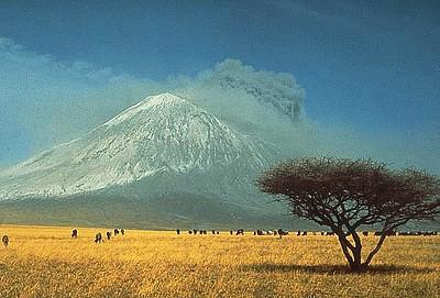 ההר בעת התפרצותו משנת 1966  (ויקיפדיה)