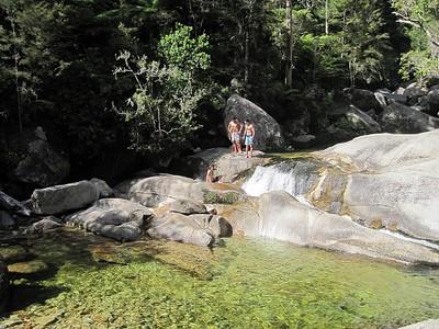 בריכות קליאופטרה- שווה לסטות מהדרך ולטבול במים המתוקים.
