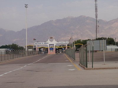 מעבר הגבול- ערבה