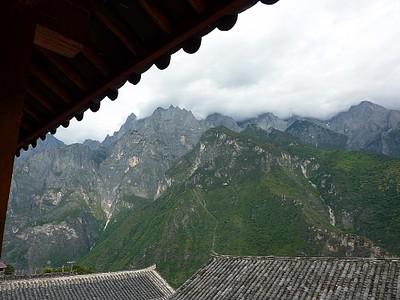 הנוף מהמרפסת