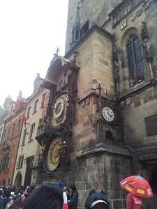 השעון המפורסם של פראג