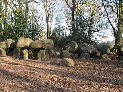 Megalithic thomb Borger (Hunebed)