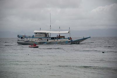 הסירה שלנו. פשוטה, צפופה ועם המון אופי
