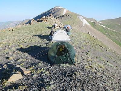 נאלצנו ללון על האוכף, מזל שיש אוהל טוב