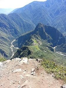 מאצ'ו פיצ'ו מפסגת ההר מאצ'ו פיצ'ו