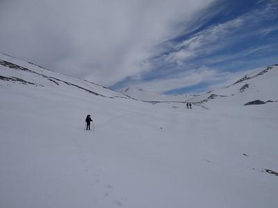 הליכה ב 2200 קרוב לפסגה