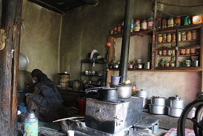 אירוח מקומי בכפר Sumda Chenmo