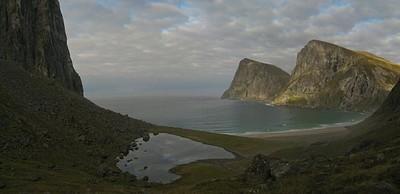 מבט צפונה מהחוף הדרומי