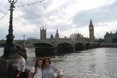 ביג בן מהאזור של London Eye