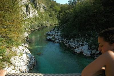נהר הסוצ'ה מהגשר