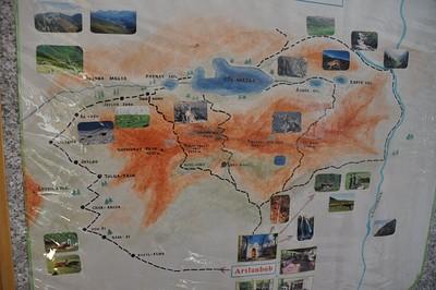 תמונה 3 מה- cbt: איור של האזור עם שמות מקומות שניתן להיעזר ולשאול אנשים בדרך