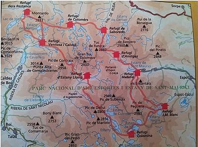 מפת REFUGI'S