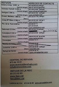 רשימת REFUGIS + טלפונים להזמנות ובירור זמינות