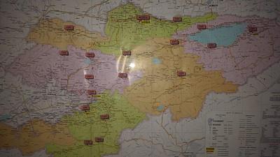 מפת המחוזות