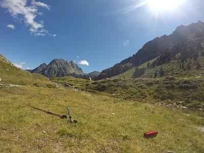 פסגת הר Montardo בדרך לרפוחיו רסטנקה