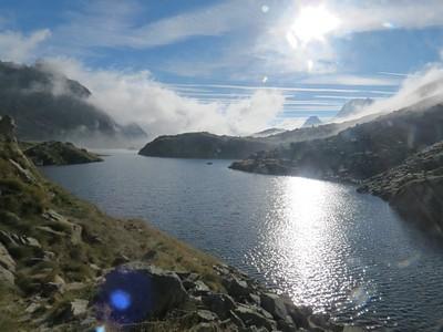 עולים לשמיים ומגיעים ל- Lac de Rius