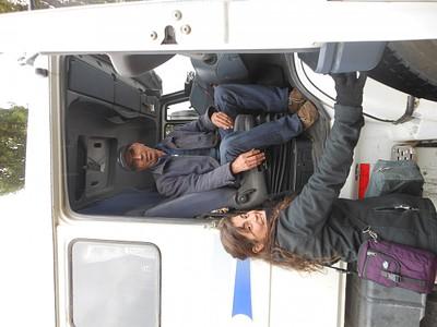 עם בונסון נהג המשאית