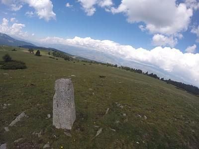 אבן גבול ב Coll Marcer