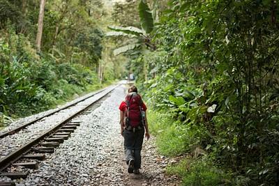 ההליכה לצד המסילה