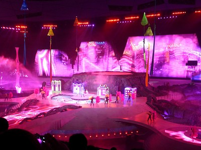 המחזמר הסיני - הפקה גרנדיוזית
