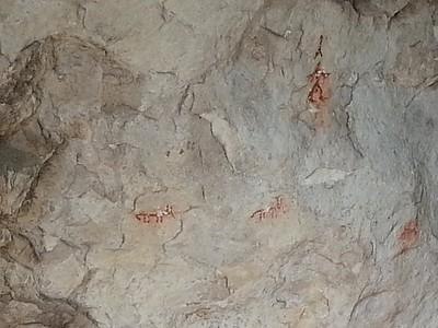 הציורים במערה הראשונה