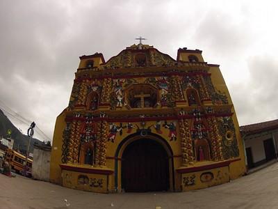 הכנסייה הצבעונית ביותר במרכז אמריקה