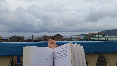 תצפית על באראקואה מהגג של הקאסה