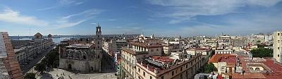 הנוף מבניין המסחר
