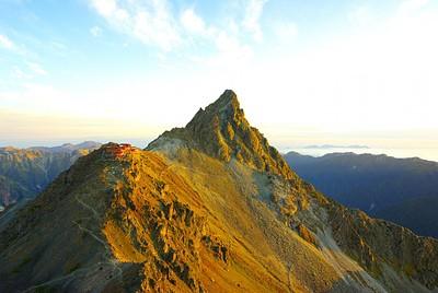 הצריף בסמוך לפסגה