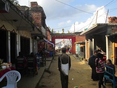 הכניסה ל- Namobuddha