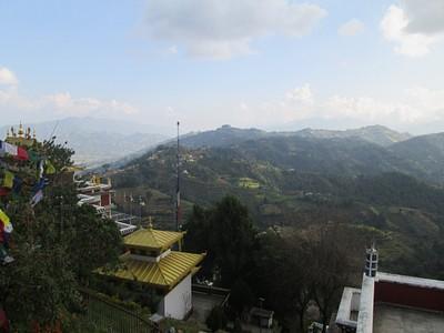 הנוף מ- Namobuddha