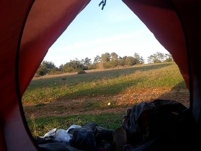 בוקר טוב מהאוהל