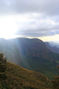 הנוף מהדרך לסנקאבר