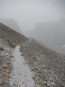 השלג בדרך לתורונג פדי