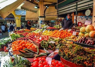 השווקים של סלוניקי