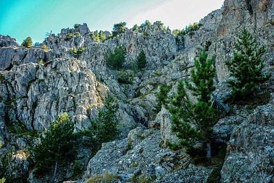 מעברי הסלעים של Bocca a u Bassiguellu