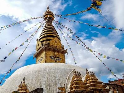 בודהה ב-Swayambhunath מקדש
