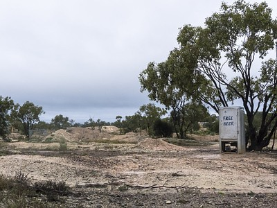 פה עתיד לקום מרכז האופל האוסטרלי הלאומי הסופי