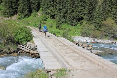 הגשר הראשון למעבר כלי רכב