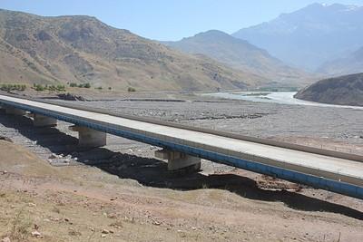 הגשר בתחילת המסלול
