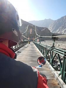 אחד מהגשרים בדרך לטורטוק