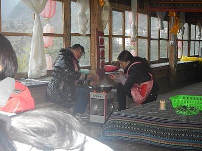 המארחות הטיבטיות שלנו בגסטהאוס ביובאנג