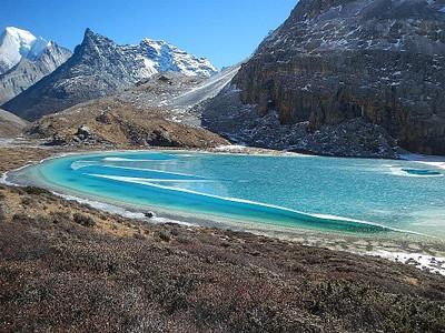 five colors lake האגם הכי יפה בטרק לטעמי